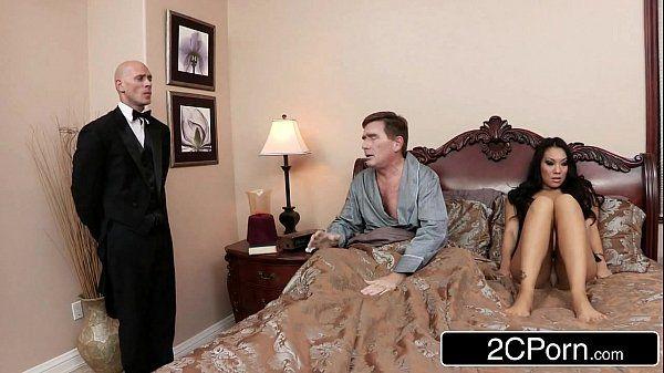 Sneaky Butler Makes His Master\