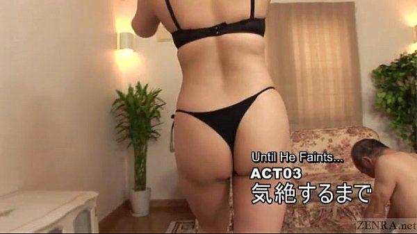 Subtitled Japanese facesitting handjob hell Mari Hosokawa