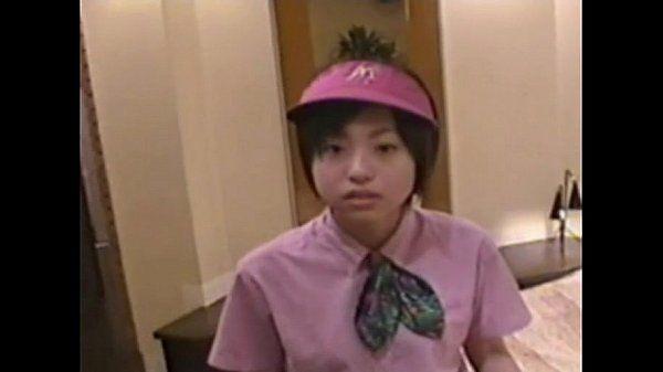 Japanese girl ( 18) with McDonald\