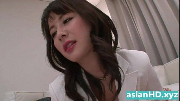 Hot japanese business woman destroys dick HD