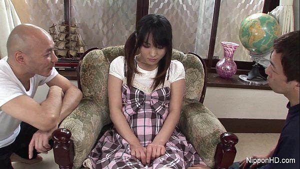 Asian schoolgirl Toyed hard HD