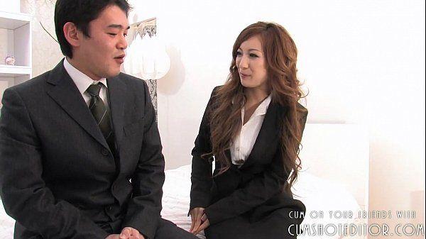 Submissive Young Japanese Slut Serving Cocks Part1