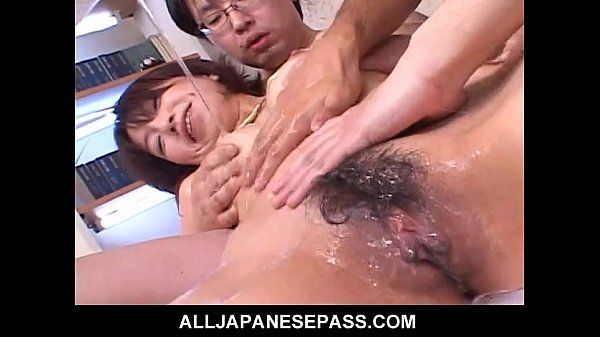 Raunchy Orgy with Hot Japanese MILF Airi Nakajima