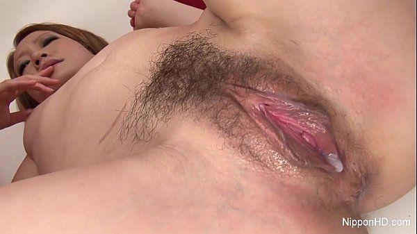 Japanese slut gets creampied HD