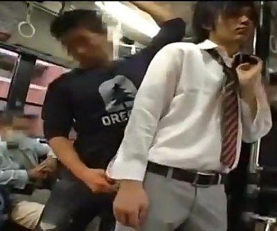 Gay sex on bus in Japan