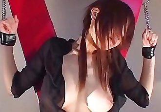 Japanese Geisha in Hardcore BDSM 8 min