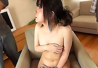 Embarrassed and naked JAV assistant director CMNF Subtitled 5 min HD
