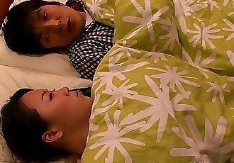 Japanese housewife titfucking her man 8 min HD