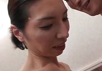 Hot and horny mature Asian takes - 9 min