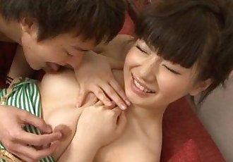 Top Japanese hardcore with nasty Akane Ozora - 12 min