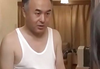 Old Man Fucks Hot Young Girl Next Door Neighbor-Japan Asian-Part1 - 16 min