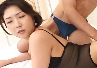Hatsumi Kudo has ass fucked with sex toys - 10 min