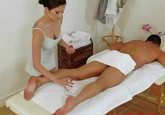 Real japanese masseuse pampering dong - 8 min HD