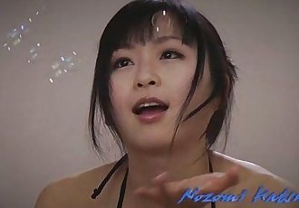 Nozomi Hatsuki Sucks Two Guys And Gets A Facial - 8 min