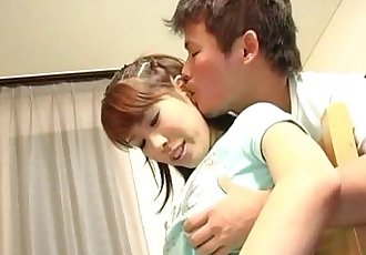 Young Shizuku goes dirty on cock - 8 min