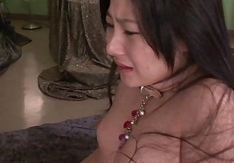 Kinky Japanese babe riding a stiff wang - 7 min HD