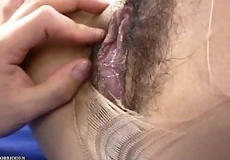 Uncensored Japanese Erotic Pantyhose Fetish Sex - 5 min