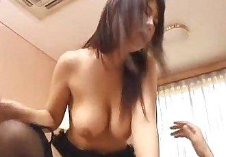 Rei Himekawa babe in lingerie fucked right - 10 min