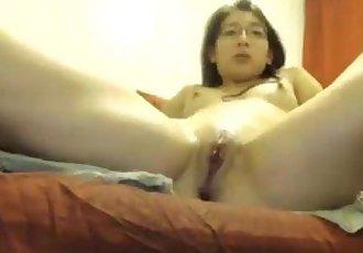 Selfie 49 cute girl orgasms - 4 min