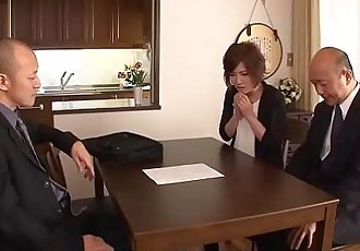 Asian slut has to fuck to save her money grabbing hubby - 59 sec