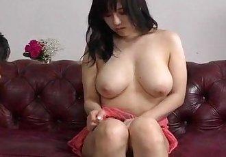 Strong hardcore for busty Japanese Azusa Nagasawa - 12 min