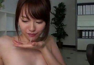 Yui Uehara fucked in serious threesome scenes - 12 min