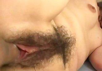 Oriental babe enjoying a thorough nailing - 6 min