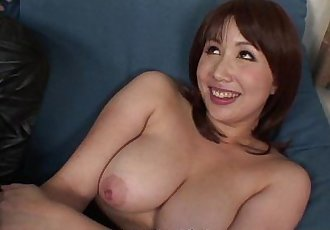 Asian slut has a pair of dicks to blow on - 8 min HD