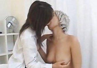 Japanese Lesbian Kiss 2 - 6 min
