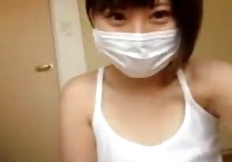 Short Haired Japanese Teen - BasedCams.com - 7 min