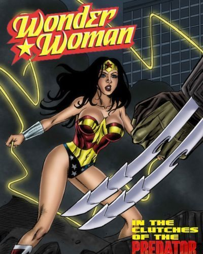 Wonder Woman vs Predator Ch. 1-3