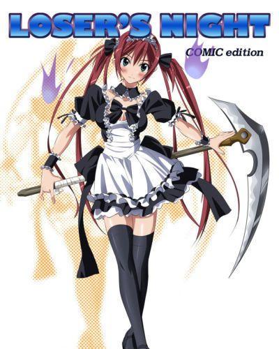 Losers Knight COMIC edition Zenpen =Wrathkal+Rocketman=