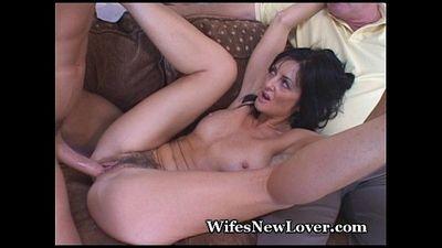 Old Neighbor Shares Mature Wife - 5 min
