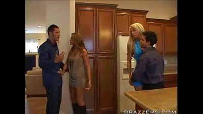 Sexy Wife Swap! - 3 min