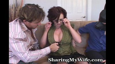 Wife Puts Hubby In His Space - 5 min
