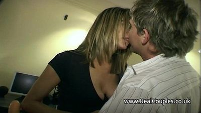 Husband gives his wife hard anal sex - 7 min HD