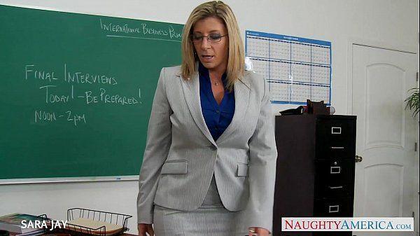 milf öğretmen Sara Jay siktir et studenthd
