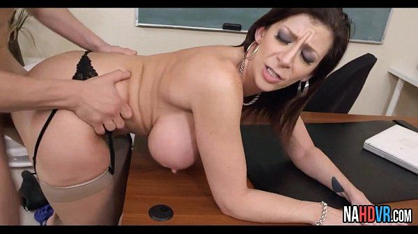 Heavy Tits MILF Fucks Student Sara Jay 3HD