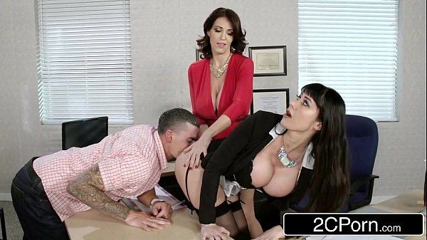 Fantasy Teacher vs Stepmom 3Some for a Lucky GuyCharlee Chase, Eva KarreraHD