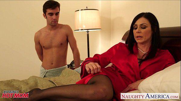 Stockinged mom Kendra Lust take cockHD