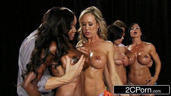 Fitness Contest OrgyBrandi Love, Diamond Jackson, Kendra Lust, Jewels JadeHD