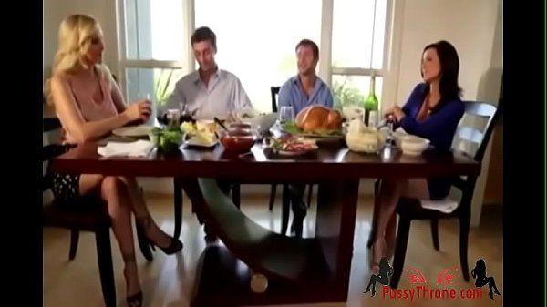 James Dean & Kendra Lust Thanksgiving DayPussyThrone.com