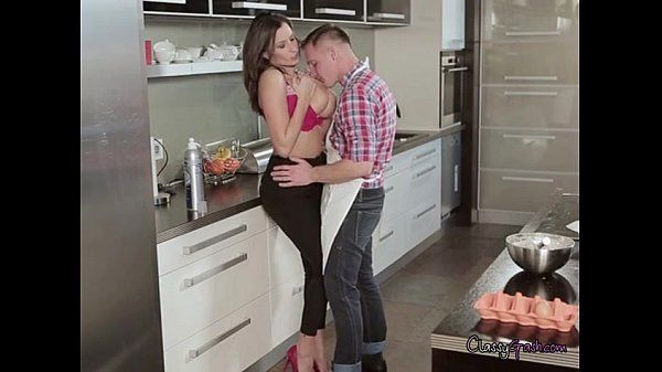 Nora And Sensual Jane Get Frisky With The Chef In The Kitchen