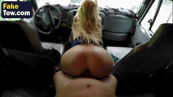 Alpha MILF Alexis Fawx Is Getting Her Pussy Smashed In Tow Truck