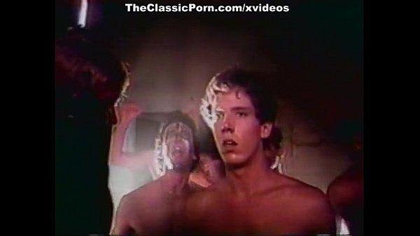 Ginger Lynn Allen, Traci, Tom Byron in vintage porn video