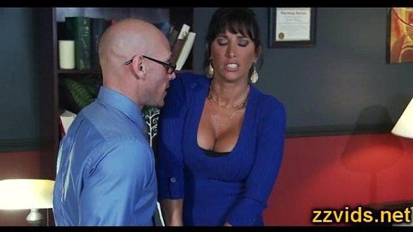 Horny wife Lezley Zen fucked by huge dick
