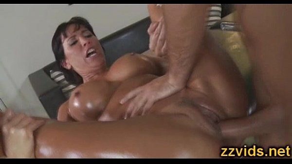 Busty milf Lezley Zen fucked after massage