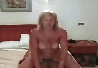 A real mother satisfies her son multiple times a day 17 min