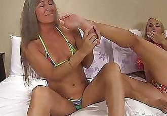 Worshipping Danis Feet TRAILER 1 min 22 sec HD