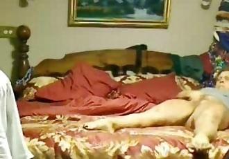 Orgasm of my mom masturbating caught by hidden cam - 38 sec
